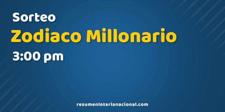Sorteo Zodiaco Millonario de la Lotería Nacional Dominicana